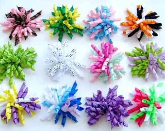 mini Kokrer bows-Wholesale korker bows- ini korker clips- korkers by the dz- wholesale hair clips-girl hair clip-boutique supplies-korker