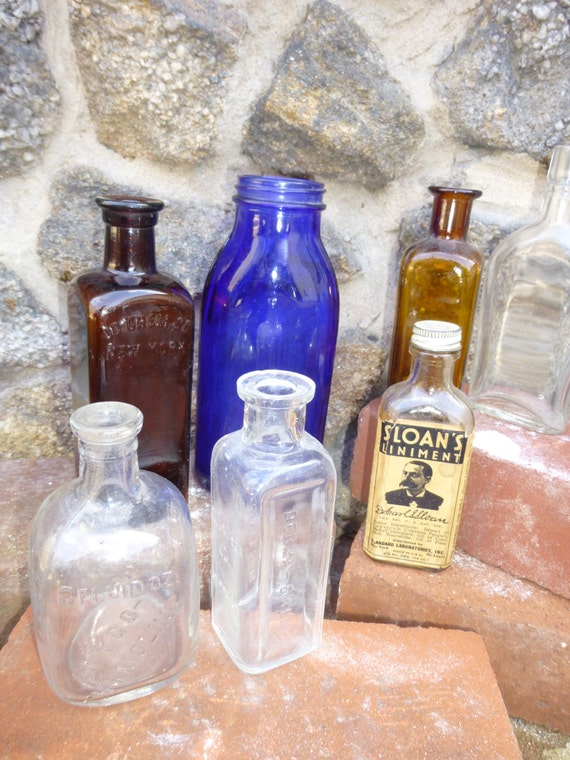 apothecary medicine bottles pictures