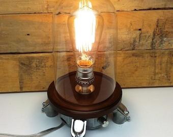 Popular Items For Bell Jar Lamp On Etsy