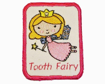 Iron-On Patch - TOOTH FAIRY