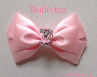 ballerina haiir bow
