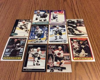 25 Los Angeles Kings Hockey Cards
