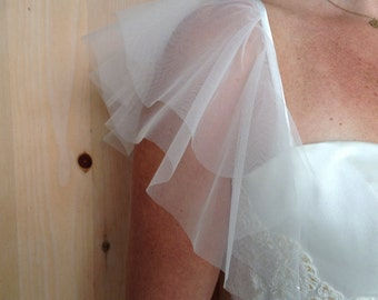 Removable tulle sleeves # 23