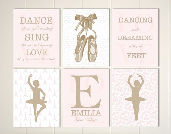 Little Girls Room Decor Baby Girl Nursery Girls Wall Art