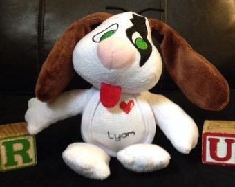 Personalized Stuffed Puppy