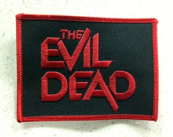 The Evil Dead patch Bruce Campbell zombies