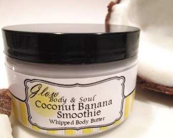 Coconut Banana Smoothie Body Butter