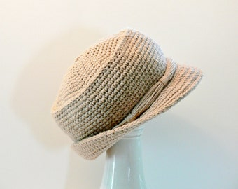 Crochet Pattern - Men's Hat - Sun Hat - Bucket Hat, Sizes Baby, Toddler, Girls, Boys Teen, Womens M, Ladies L, Men's M, Men's L, XL # 118