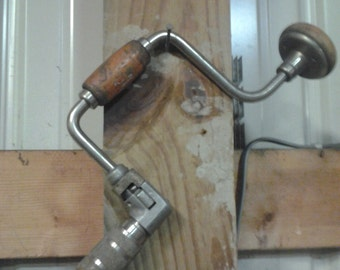 antique hand drill