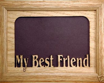 my best friend picture frame best friend frame friend frame friend gift best friend gift friends best friend friend photo frame 5x7