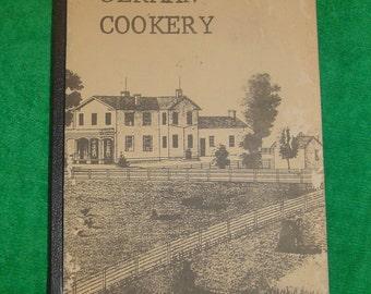 Rediscovering German Cookery Vintage Old Fashion Original
