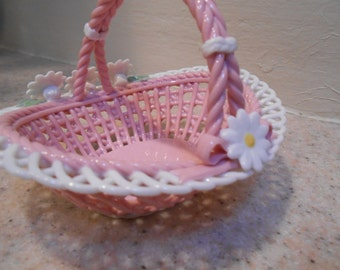 Basket Little Pink