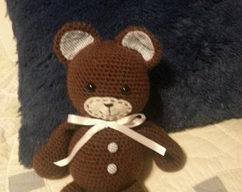 Crochet Snuggle Bear