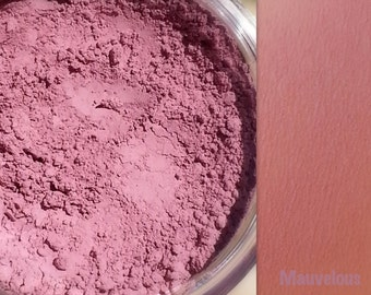 MAUVELOUS Mineral Blush Makeup- All Natural and Vegan Friendly Cosmetics