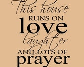 Family Wall decal, Living room decal, Marriage wall decal, Home quote decal