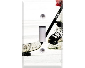 Hockey Light Switch Cover