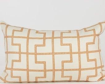 Schumacher BLEECKER  Designer Pillow Cover in Spark Lumbar, Accent Pillow, Toss Pillow, Throw Pillow, Decorative Pillow, Many Sizes