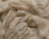 Alpaca/Wool Rovings -- six ounce bags of beautiful rovings for spinning or felting