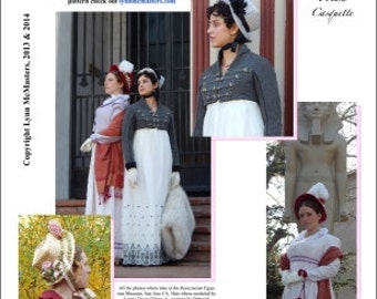 MC55  - 1806 Napoleonic Era Hat Pattern (Sewing Pattern) Sewing Pattern by Lynn McMasters