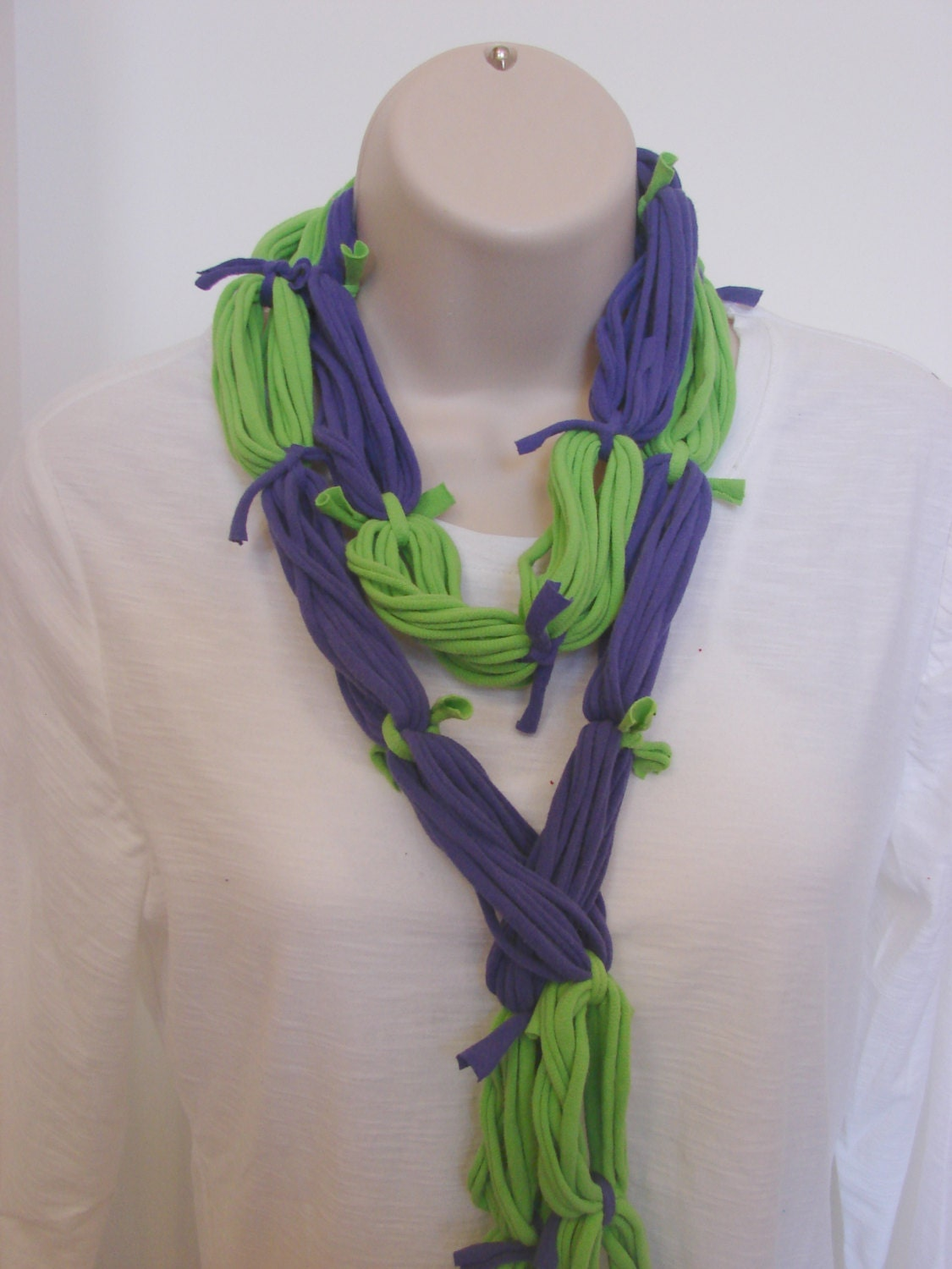 Recycled t shirt scarf fashion scarves for by ...