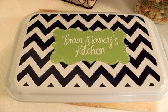 Custom Gifts for Mom Personalized Casserole Dish Monogrammed Cake Pan Nordic Ware Kitchen Cooking Gifts Birthday Gifts for Grandma