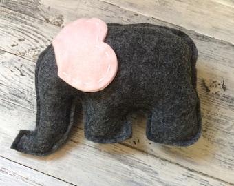 Elephant Tooth Fairy Pillow