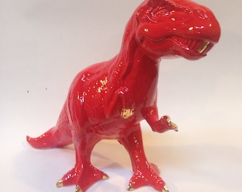 Rex in Red and Gold
