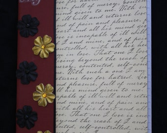 My Darling Altered Composition Book (7003)