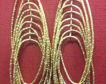 Gold Dangle Earrings