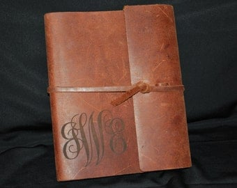 Handcrafted Genuine Leather Bound Journal