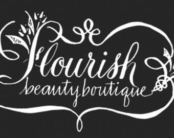 Custom Logo Calligraphy