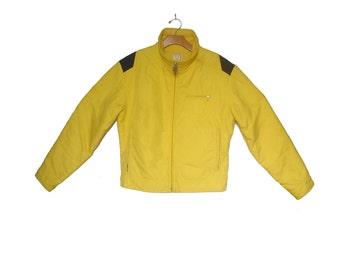 Vintage 80s Ski Jacket Roffe Color Block Unisex Medium Large