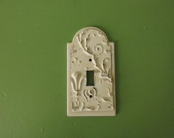 Vintage French Switch Plate