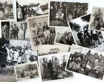 Vintage photos - Spanish people - Spanish places - Lot of 10