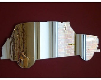 London Black Cab Taxi Shaped MIrrors - 5 Sizes Available