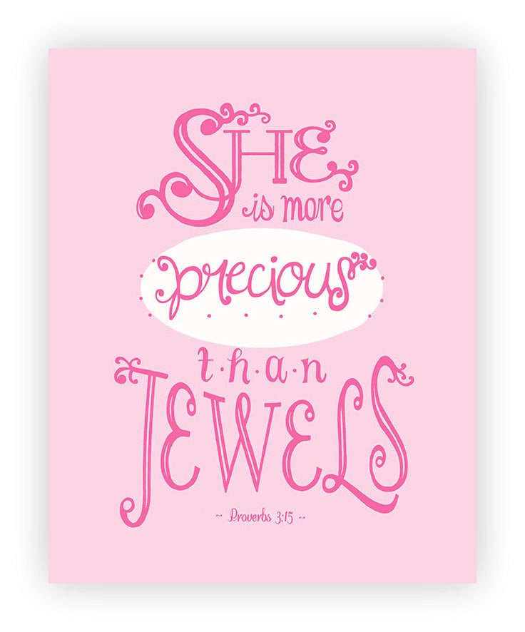 Quotes For A Baby Girl: Printable Bible Verse For Baby Girl Bible Quote Print Baby