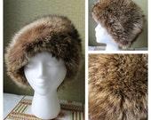 Finnish Fur Hat Princess Fur Hat Fur Toque