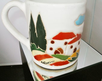 Designer ITALIAN COFFEE MUG By Leoncini