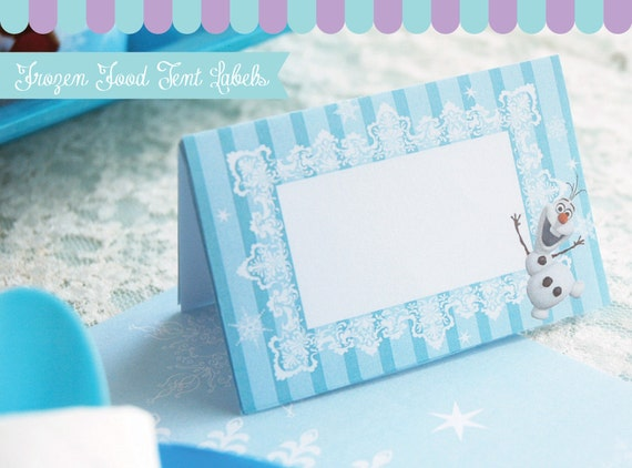 for Frozen Birthday Party. Instant Download Frozen Labels Printables ...