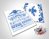 DIY Doctor Who Inspired Invitations