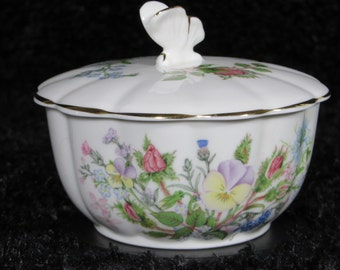 Aynsley Wild Tudor Sugar Bowl England