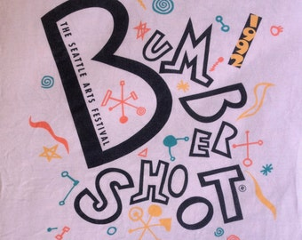 Vintage 1990s Bumbershoot Seattle International Arts & Music Festival 1992 T-Shirt size M