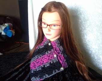 chunky cowl neck warmer