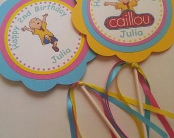 Caillou Centerpieces, Caillou Girl Centerpieces