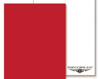 Inkedibles Premium Frosting FlavorSheets: 3 pack Letter Size (Strawberry Licorice flavor/scent)