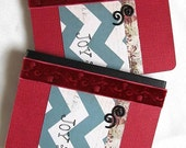 Christmas Mini Journal - Mini Notebook - Holiday Journal - Christmas Journal - Holiday Organization - Little Red Notebook - Joy Notebook