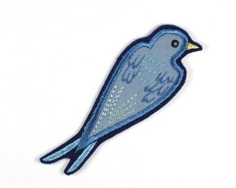 Patch bird Swallow Else ca. 11,5 x 4cm