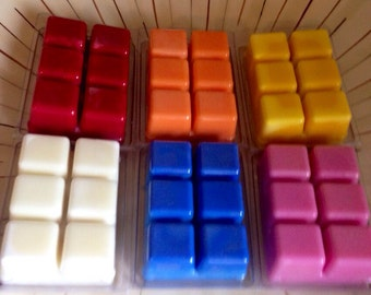 10,  soy wax tarts, melts,