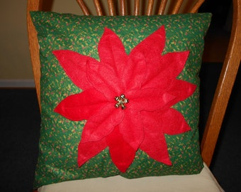 POINSETTA PILLOW