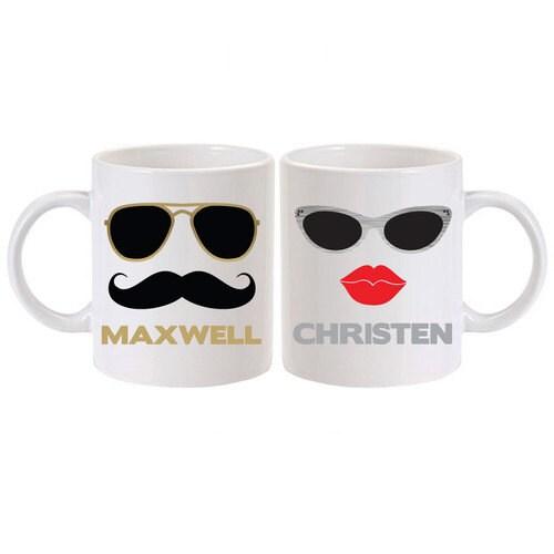 his and hers coffee mugs personalized coffee mug set custom. Black Bedroom Furniture Sets. Home Design Ideas
